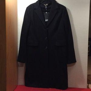 ICE by Iceberg Women's Black Trench coat